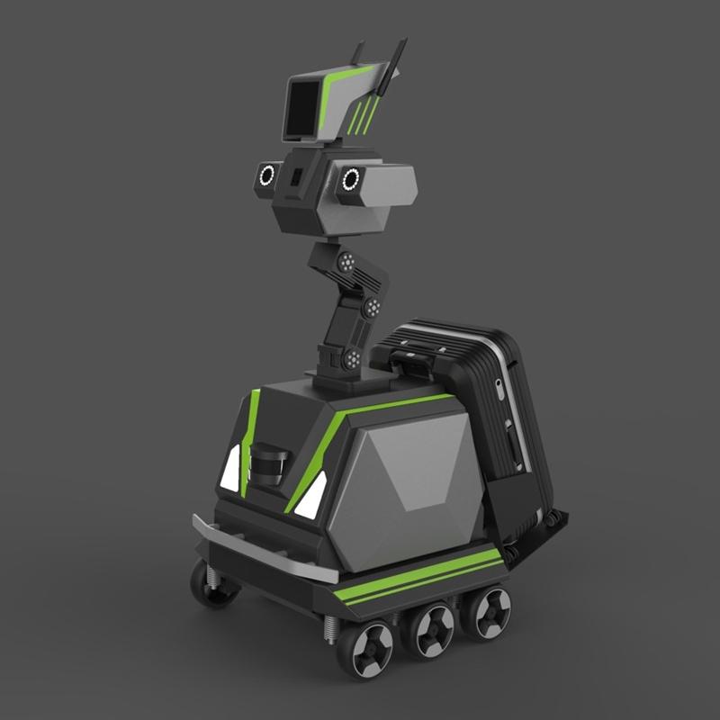 小区巡检机器人